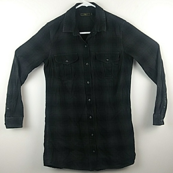 Obey Other - Obey plaid shirt size XS